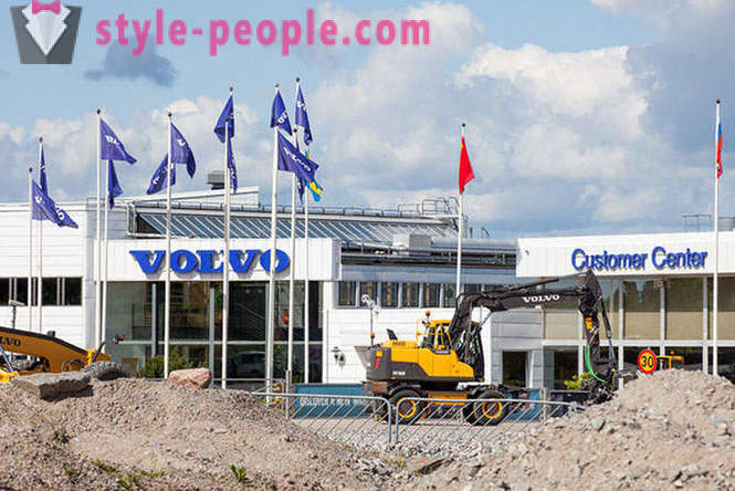 Polygon Volvo Construction Equipment Svédország
